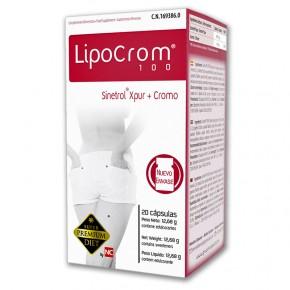 LIPOCROM 100 NC, QUEMAGRASAS 20 Cáps. CN.169386.0