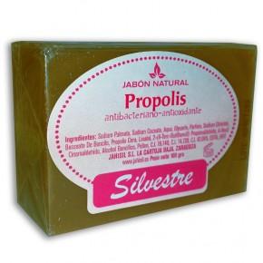 JABÓN NATURAL PROPÓLEO SILVESTRE, Antibacter. – Antioxidante 100g.