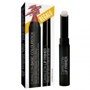 CAMALEÓN BASIC COLOURSTICK TERRA INTENSO & LIP PRIMER, 4g.+1.8g.