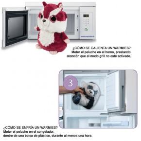 PELUCHES WARMIES VARIOS MODELOS