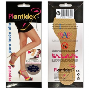 PLANTILLAS ANTIDESLIZANTES PLANTIDEX, Talla M 36 a 39