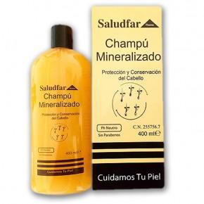 CHAMPU MINERALIZADO SALUDFAR, 400ml. CN.255756.7