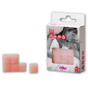 TAPONES SILICONA MOLDEABLE ROSA PROT. OÍDOS BIOTAP, 6uds.
