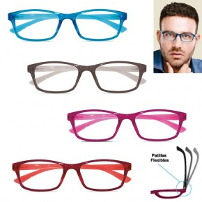 GAFAS LECTURA MERCURIO TWINS OPTICAL, 4 colores, +1:0 a +3:5