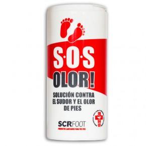 SOS OLOR! POLVOS DESODORANTES DE PIES SCRfoot