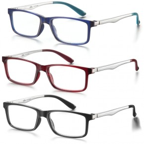 GAFAS LECTURA NEW YORK, 3 colores, +1.0 a +3.5