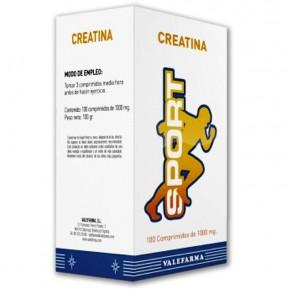 CREATINA MASTICABLE SPORT VALEFARMA, 100 Comp. de 1g.