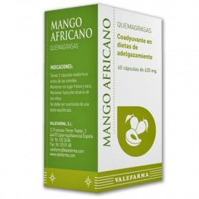 MANGO AFRICANO QUEMAGRASAS VALEFARMA, 60 Cáps. 620mg.