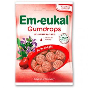 GOMINOLAS EM-EUKAL GUMDROPS Cereza y Salvia, 40g.