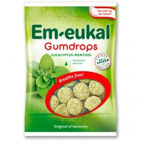 GOMINOLAS EM-EUKAL GUMDROPS Eucalipto y Mentol, 40g.