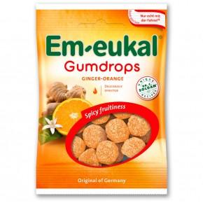 GOMINOLAS EM-EUKAL GUMDROPS Naranja y Jengibre, 40g.