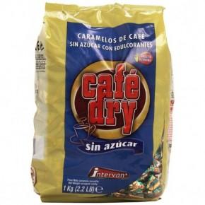 CARAMELOS CAFÉ DRY SIN AZÚCAR, 1Kg.