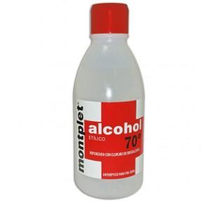 ALCOHOL 70º 250 ml. COTONI