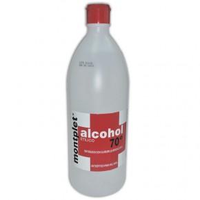 ALCOHOL ETÍLICO 70º MONTPLET, 1L.