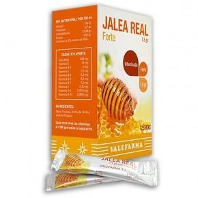 JALEA REAL FORTE ADULTO VALEFARMA, 12 Sticks de 1,5g.