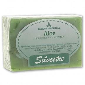 JABÓN NATURAL ALOE SILVESTRE, Hidratante - Cicatrizante 100g.