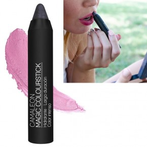 CAMALEÓN MAGIC COLOURSTICK GRIS Hidratante, Duradero e Intenso, 4g