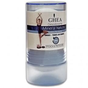 DESODORANTE MINERAL NATURAL GHEA 24h. Unisex, Incoloro 100g