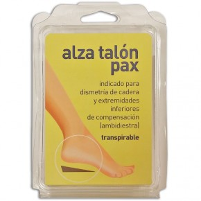 ALZA TALÓN PAX, EXPESOR: 5 ó 10 mm. y Tallas: P. o G.