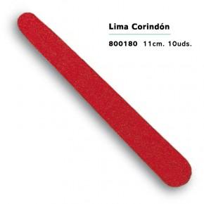 LIMA UÑAS CORINDÓN 11cm.10uds. 3CLAV. CN.172858.6
