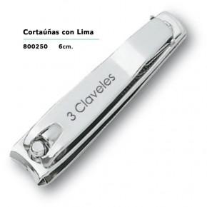 CORTAÚÑAS CON LIMA 6cm. 3CLAVELES CN.156562.4