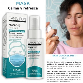 MASK SKIN DEFENSE MIST MASKNÉ REPAIR CAMALEÓN 50ml.