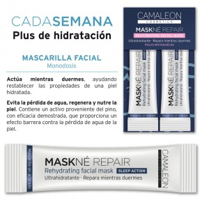 PACK 2 MON. REHYDRATING FACIAL MASKNÉ REPAIR CAMALEÓN