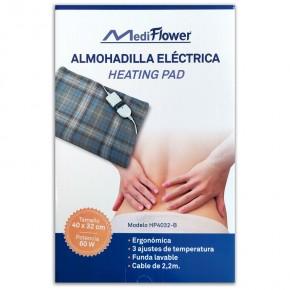 ALMOHADILLA ELÉCTRICA MEDIFLOWER, 40x32cm.